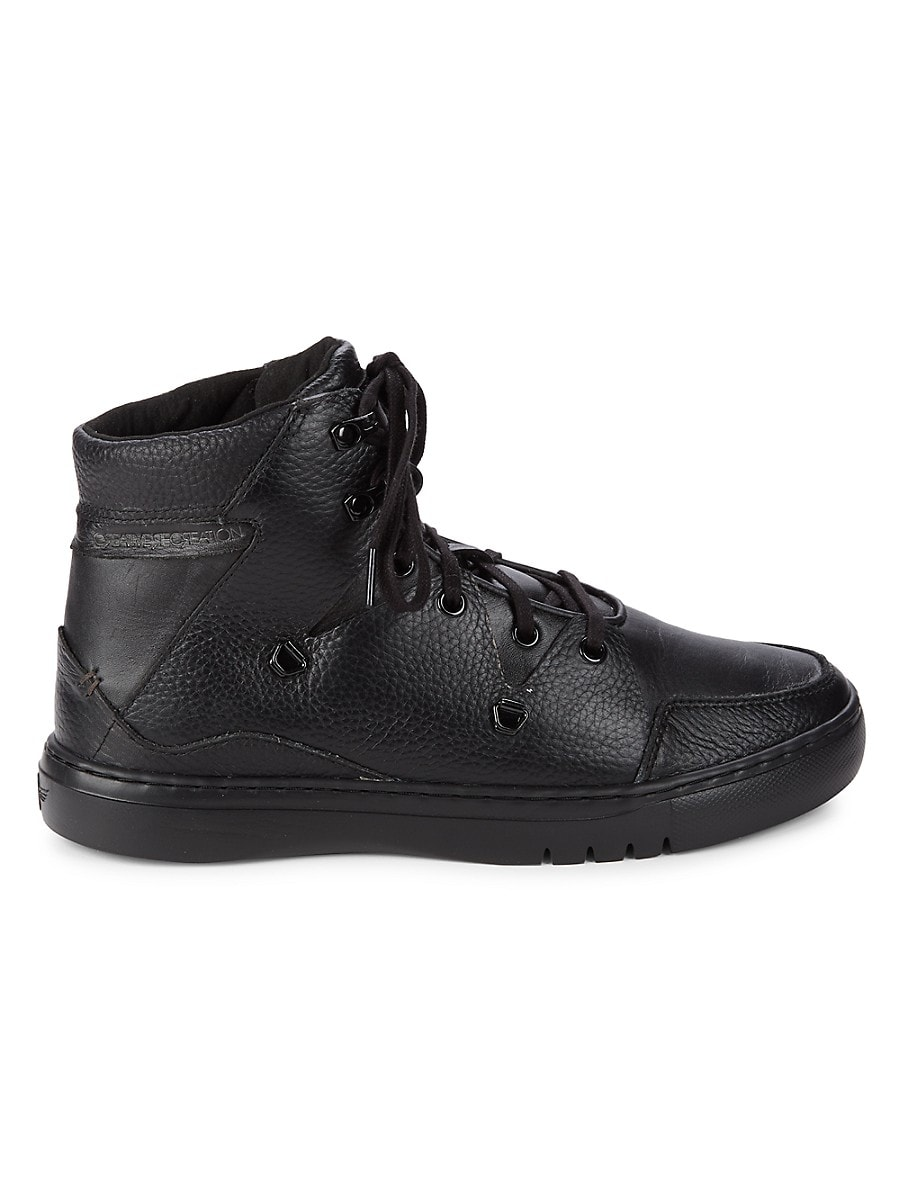 Men's Spero High-Top Leather Sneakers