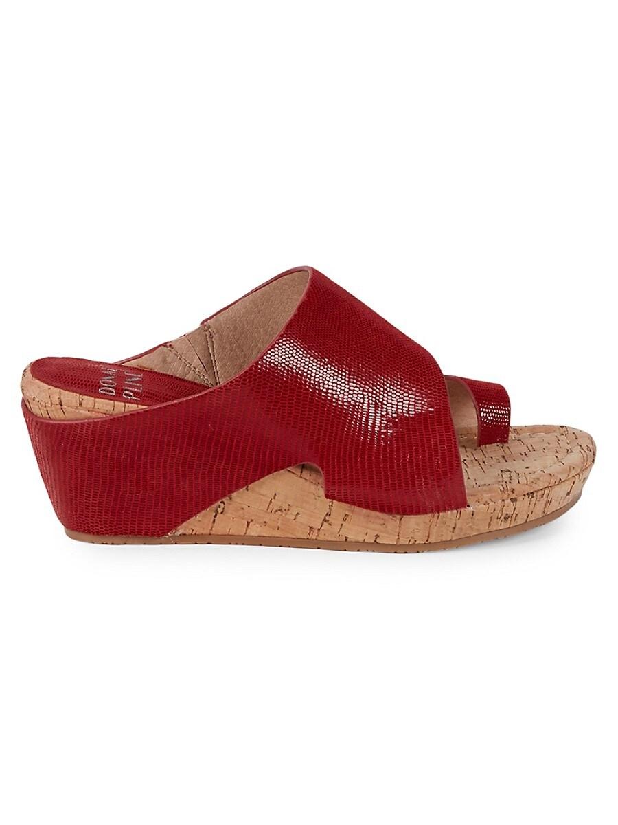 Women's Gretta Leather Wedge Sandals