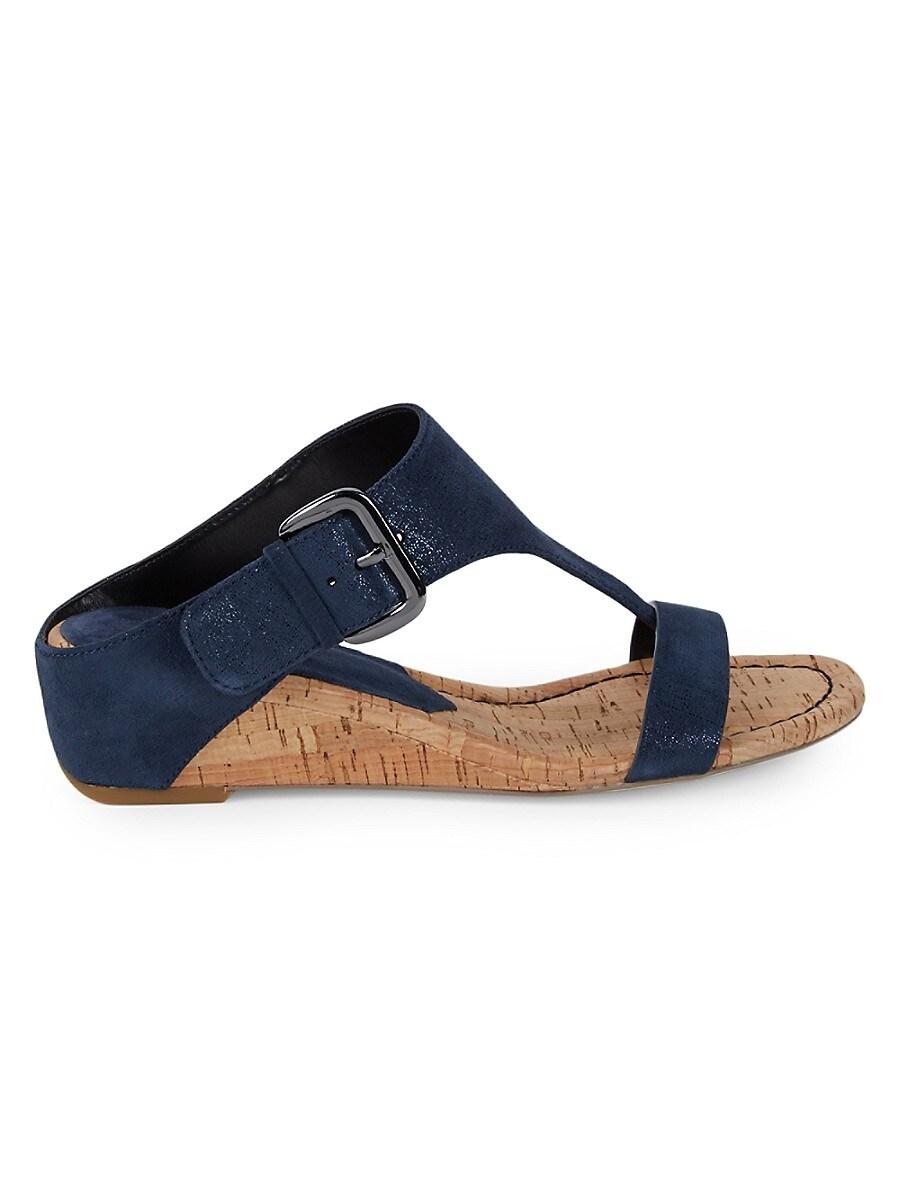 Women's Dylan Suede Wedge Sandals