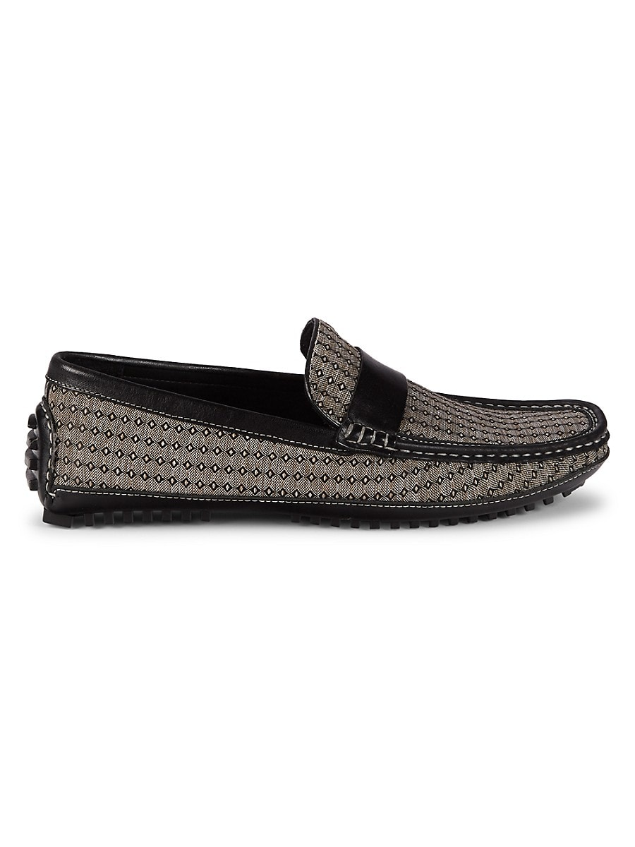 Men's Textile & Leather Loafers