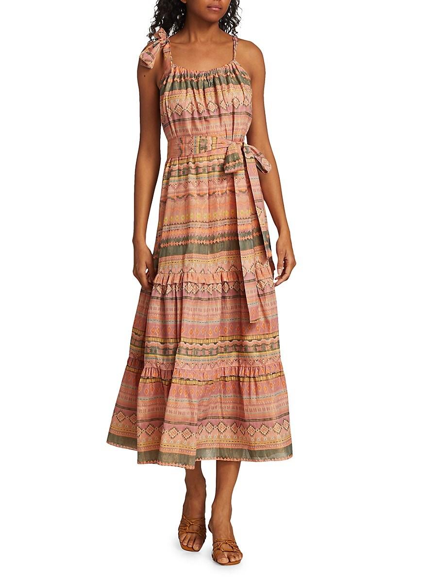 Women's Piura Geometric Midi Dress