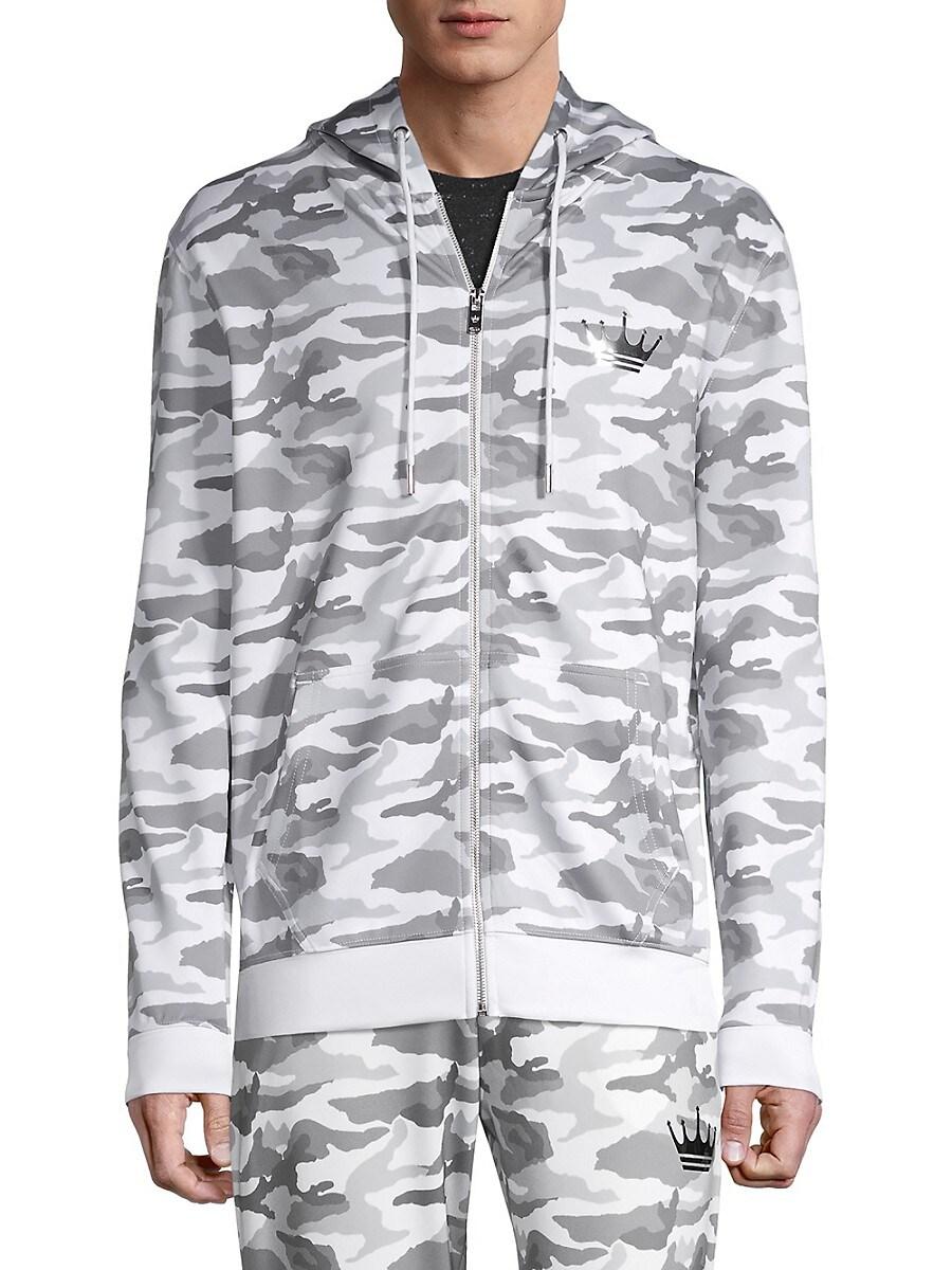 Men's Camouflage-Print Hoodie