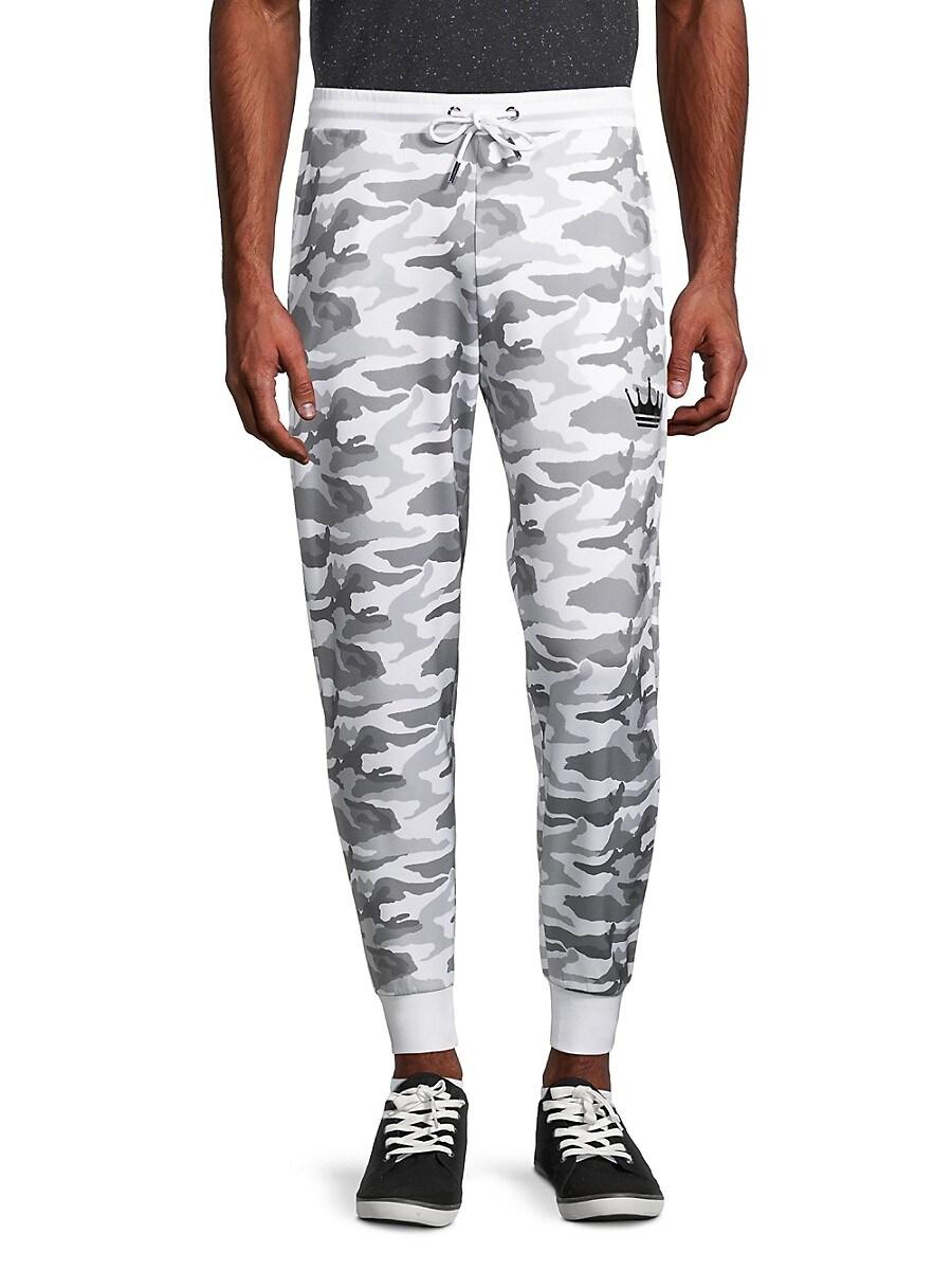 Men's Camouflage-Print Jogger Pants