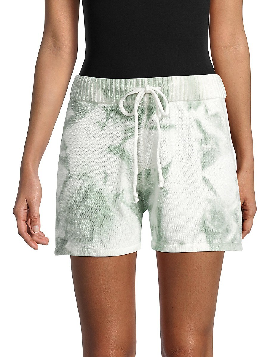 Women's Tie-Dyed Cotton Shorts