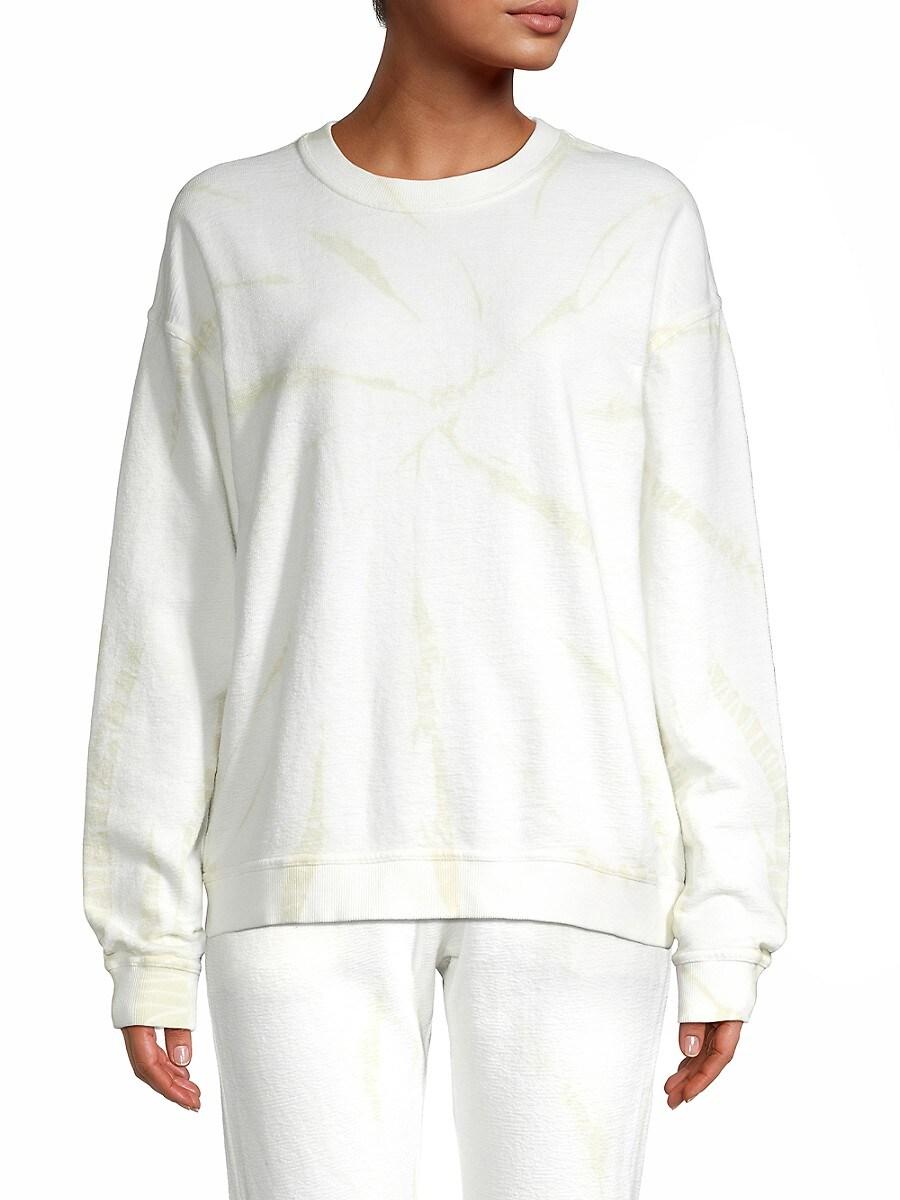 Women's Tie-Dyed Sweatshirt