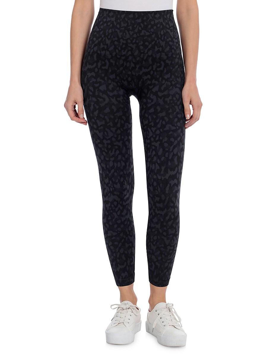 Women's Leopard-Print Leggings
