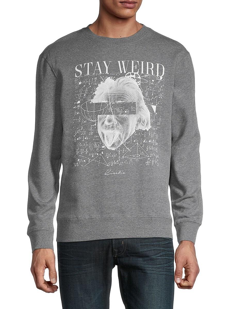 Men's Stay Weird Graphic Sweatshirt