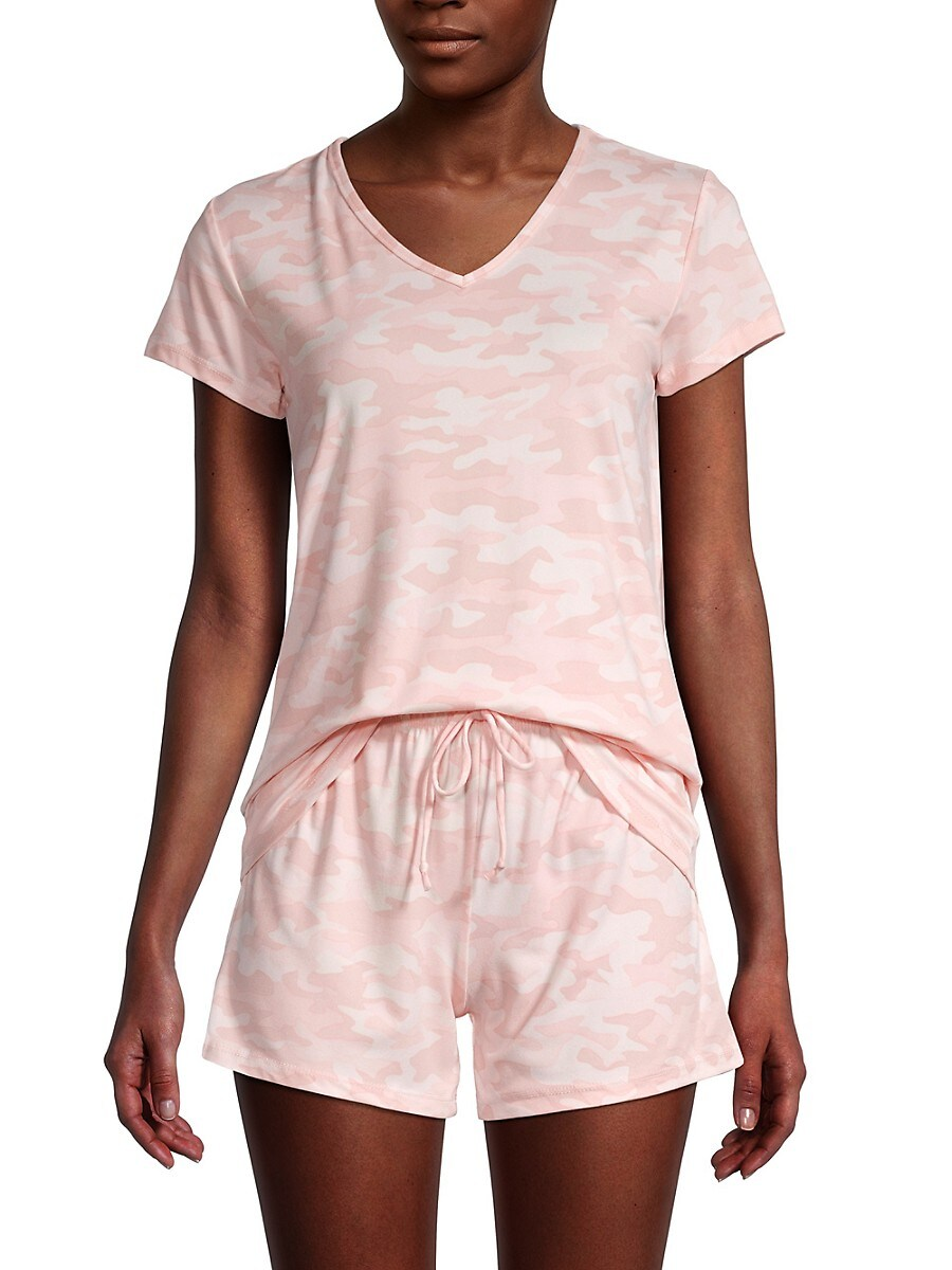 Women's 2-Piece Camo Pajama Set