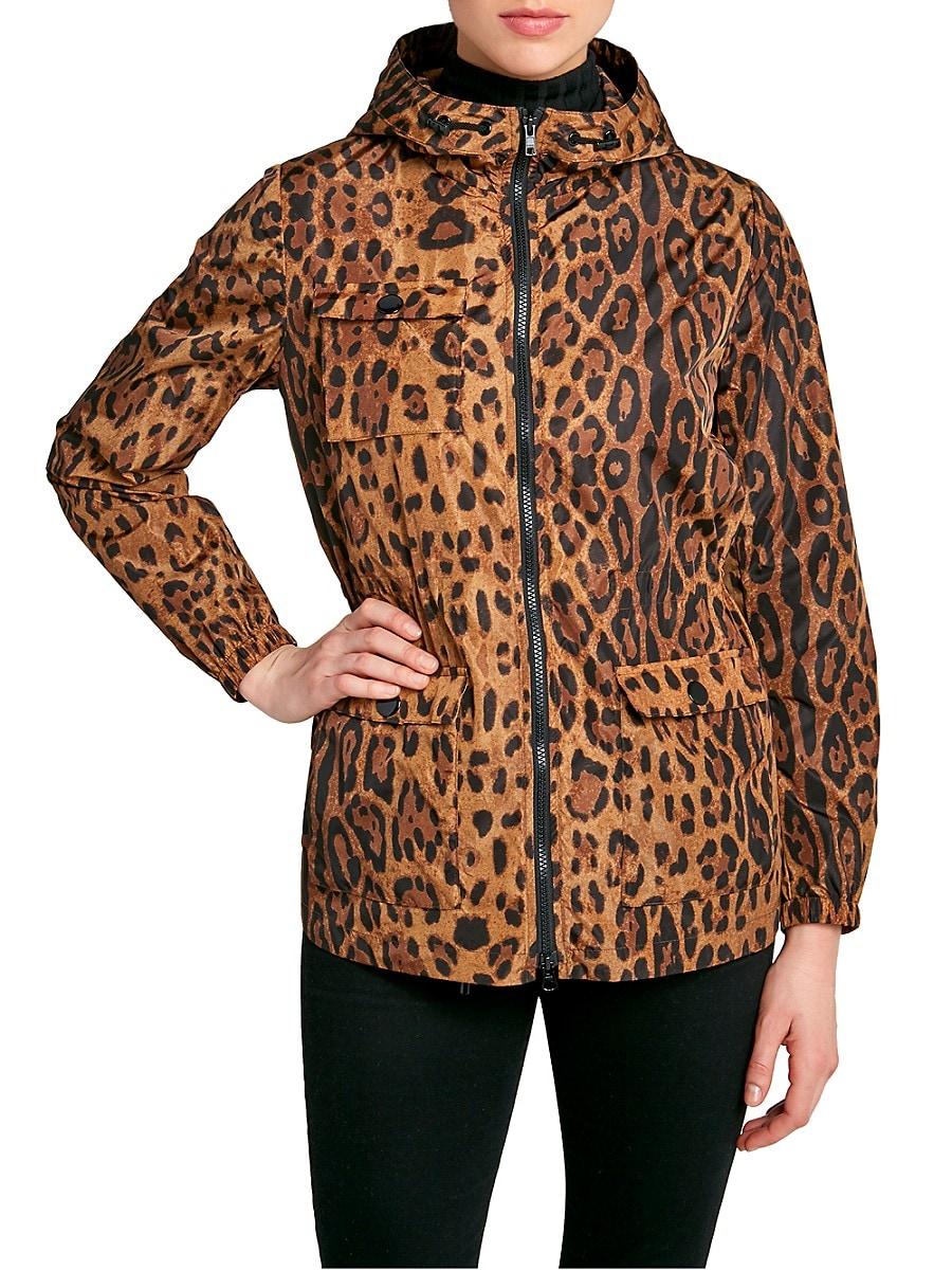 Women's Light City Leopard-Print Jacket