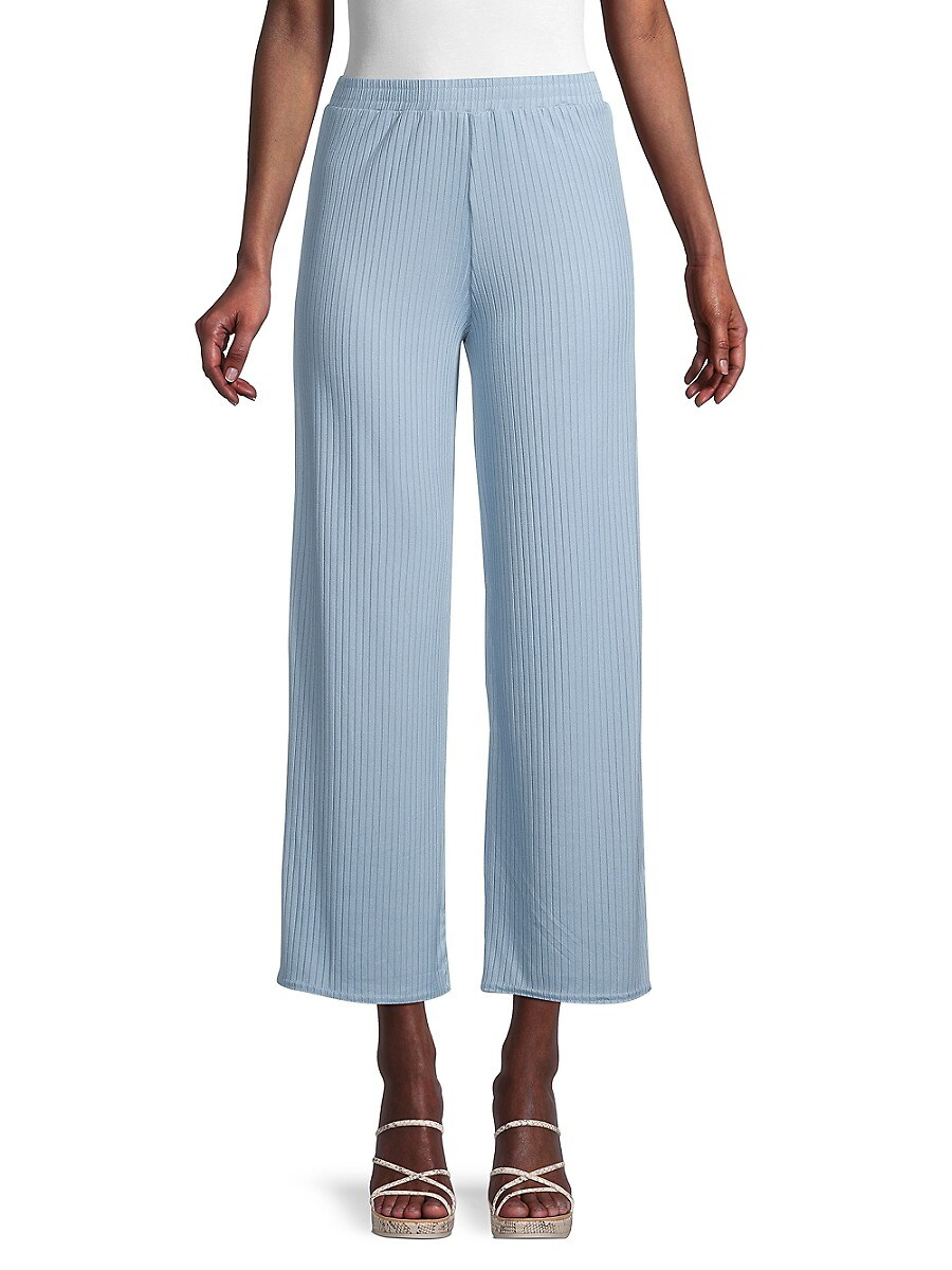 Women's Ribbed Flare Pants