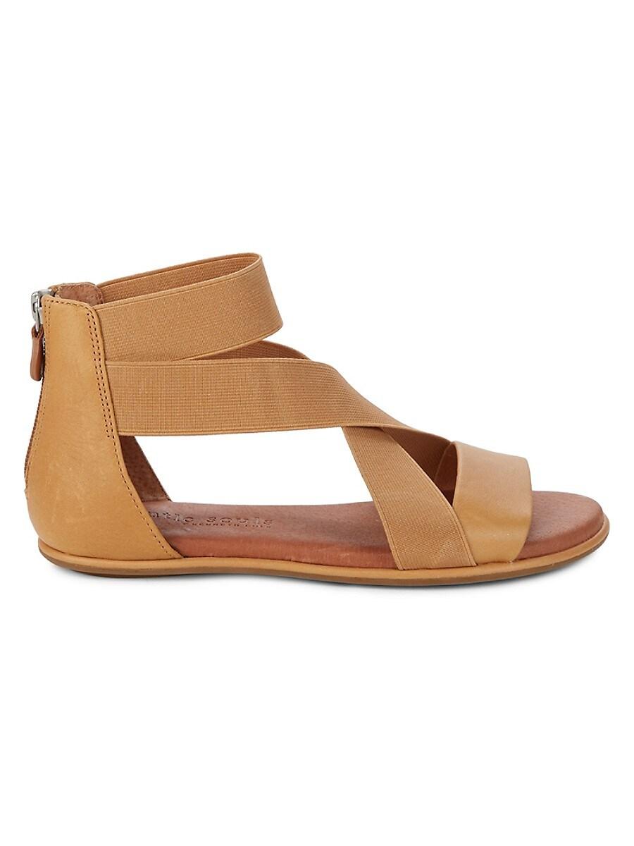 Women's Break Elastic Strap Flat Sandals