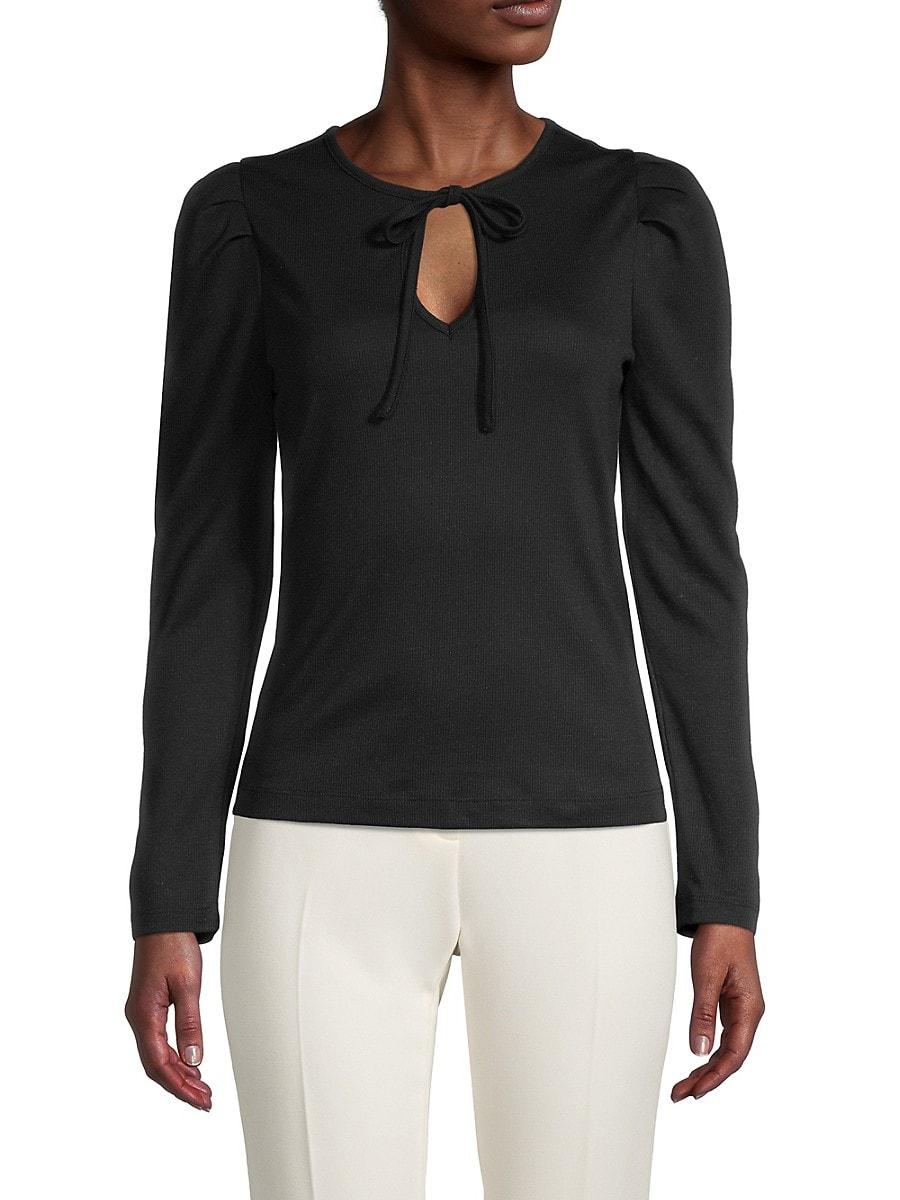 Women's Puff-Sleeve Top