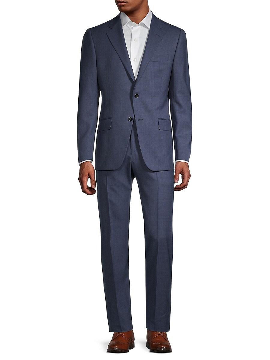 Men's Milburn II Regular-Fit Wool Suit