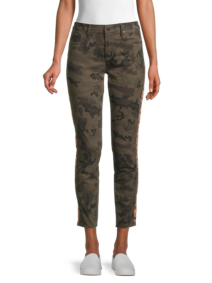 Women's Camo-Print Jeans