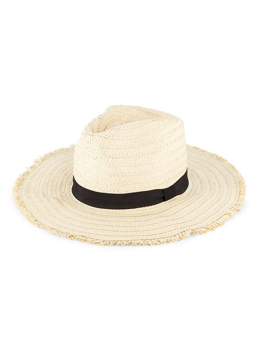 Women's Woven Panama Hat