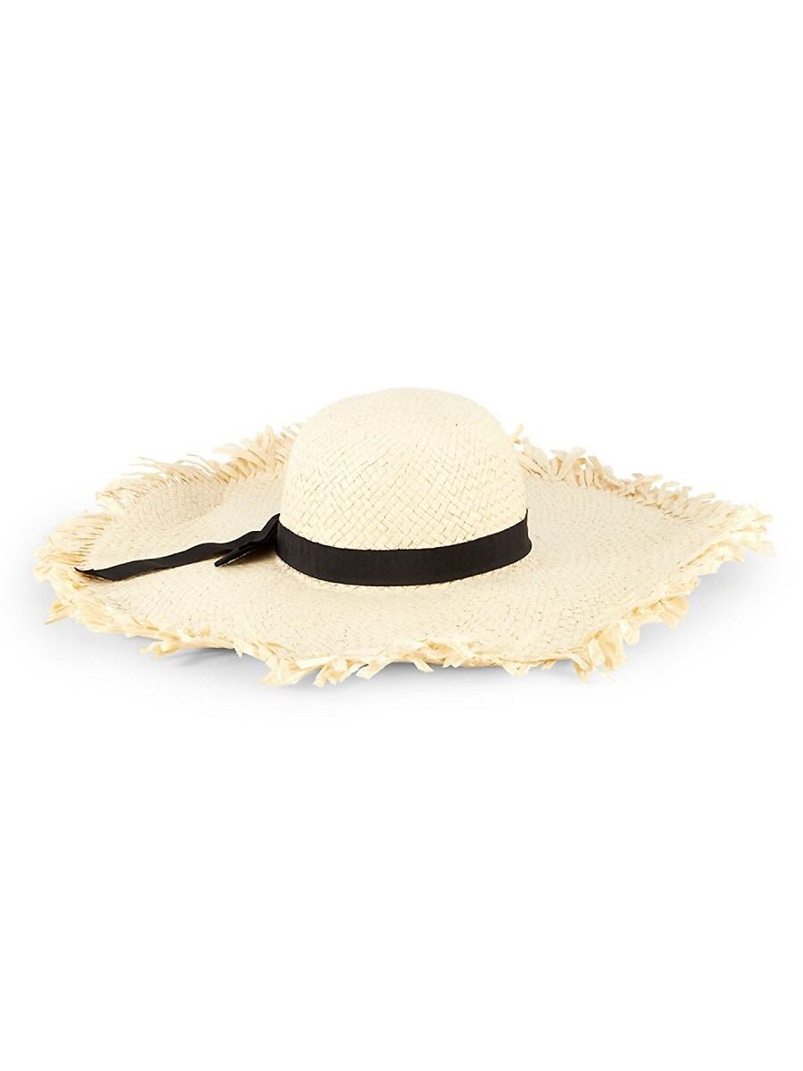 Women's Lulla Frayed Wide-Brim Hat