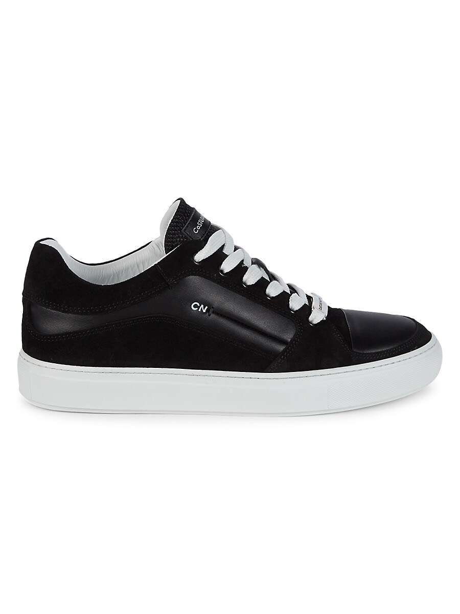 Men's Suede & Leather Sneakers
