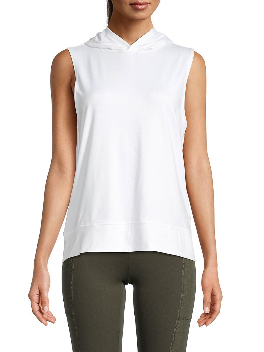 Women's Interval Hooded Tank Top