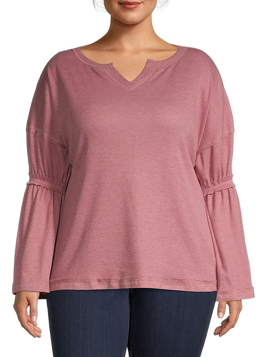 Women's Flare-Sleeve Top
