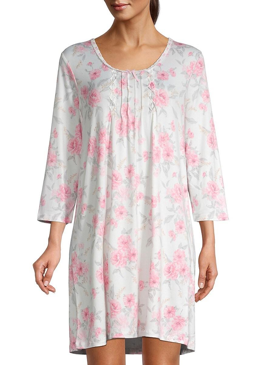 Women's Floral Sleepshirt