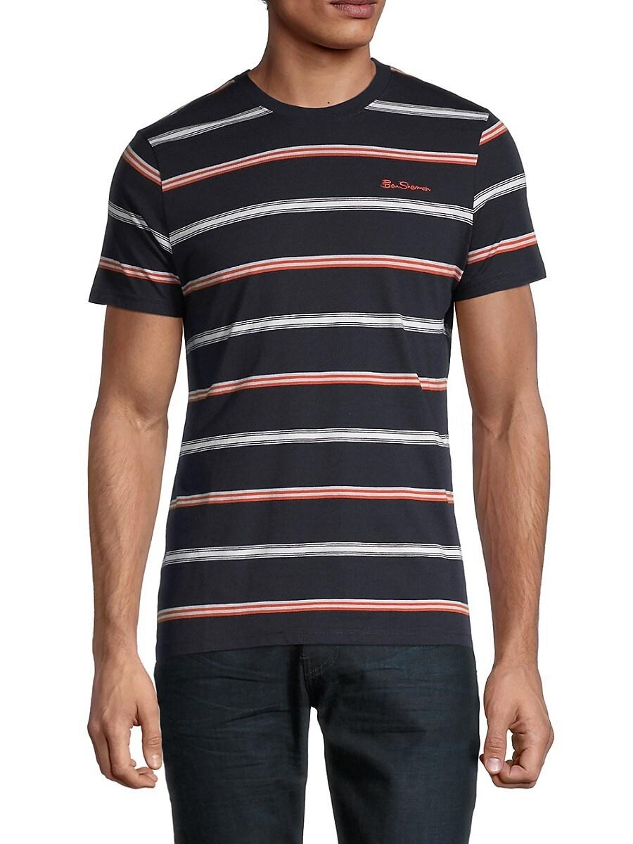 Men's Collegiate Stripe T-Shirt