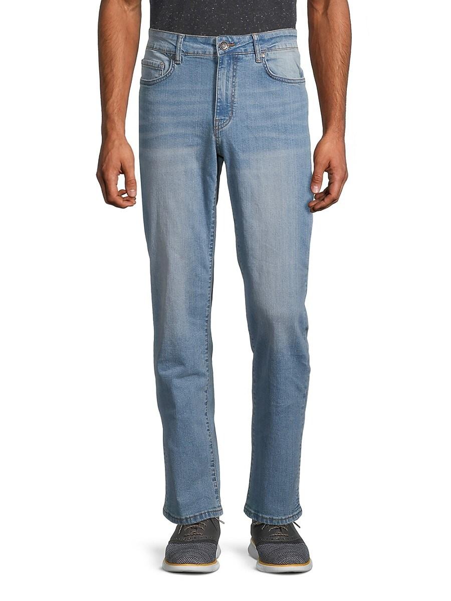 Men's Slim-Fit Straight Jeans