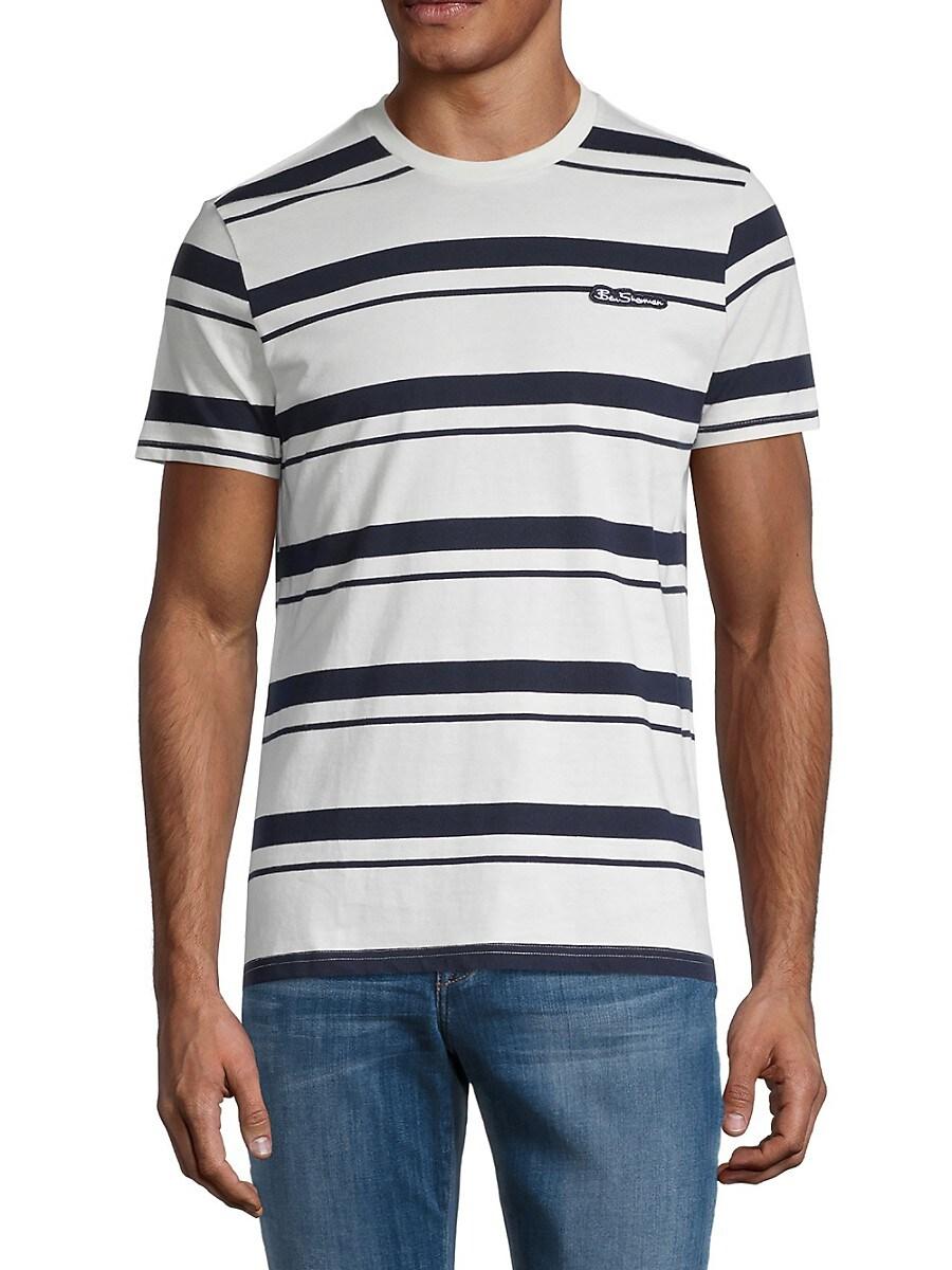 Men's Stripe Logo T-Shirt