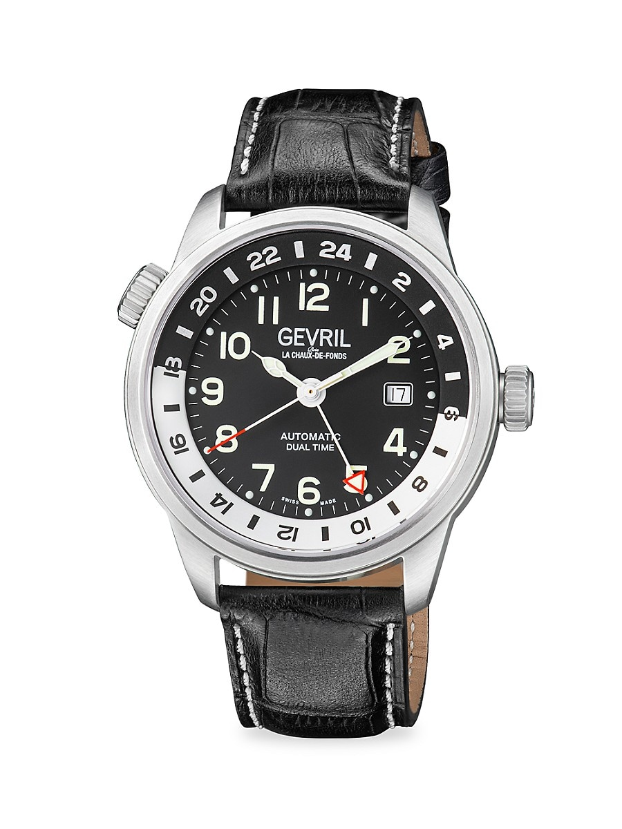 Men's Canal St. Swiss Automatic GMT Diver Watch