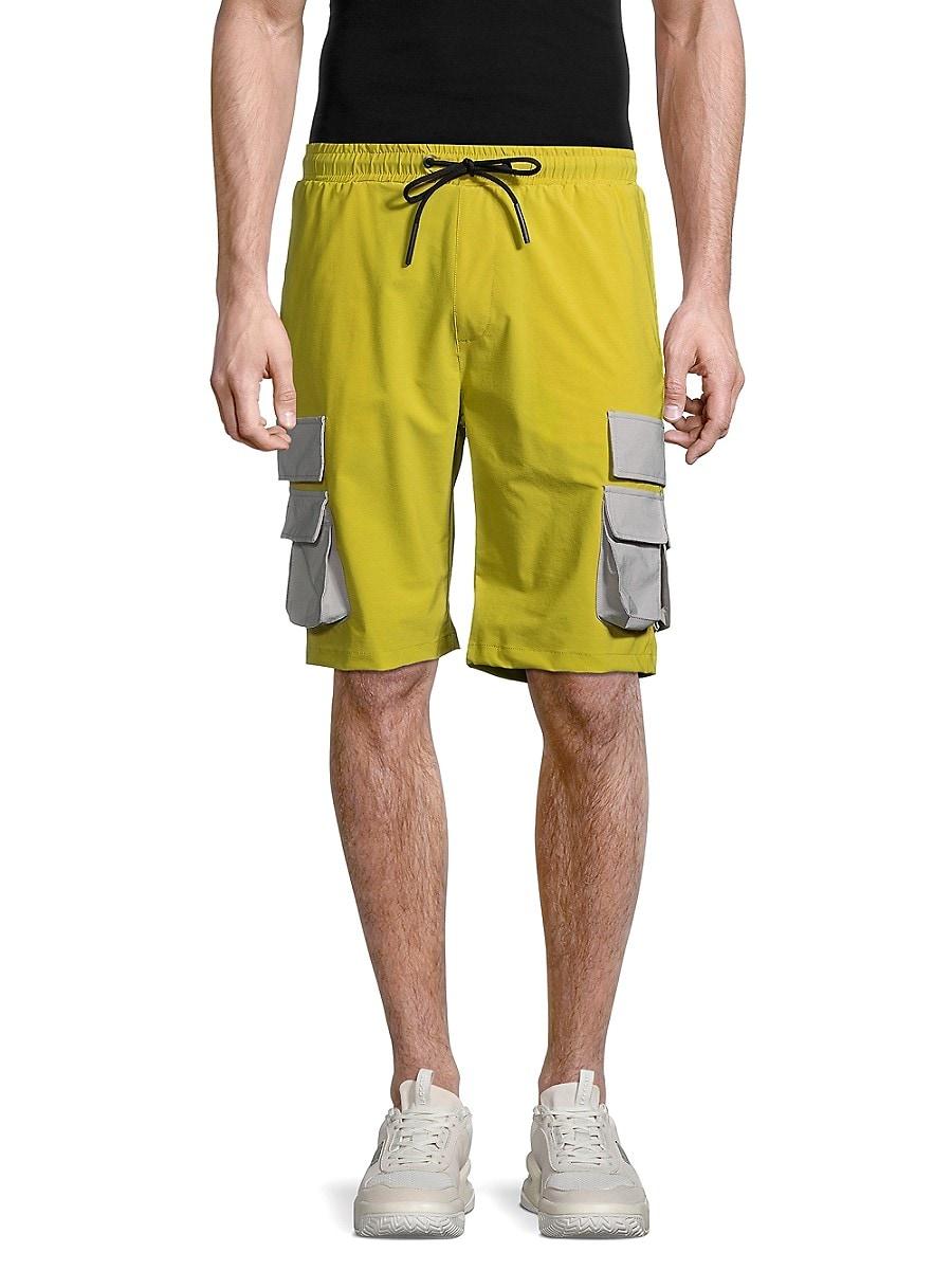Men's Contrast-Pocket Shorts