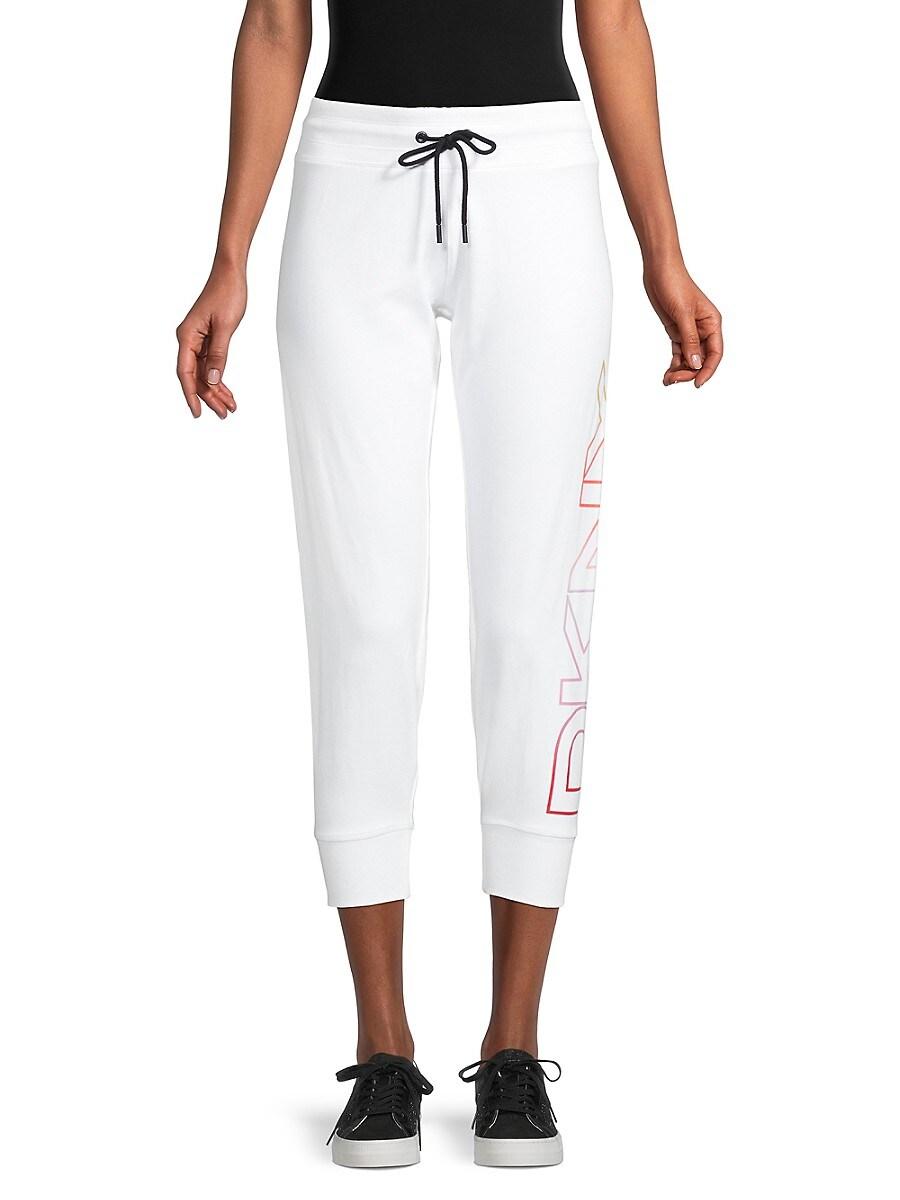 Women's Logo Drawstring Cropped Pants