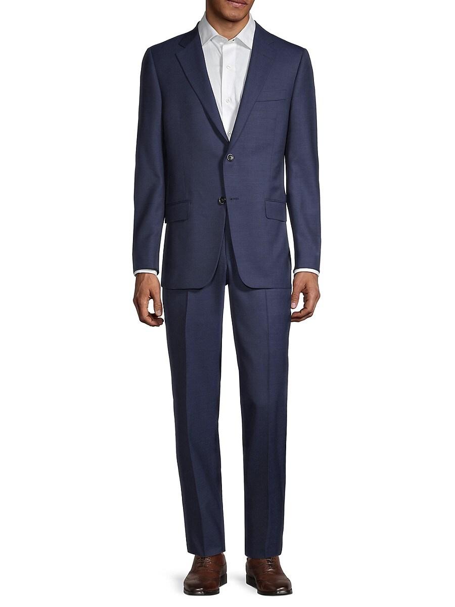Men's Milburn IIM Series Regular-Fit Wool Suit