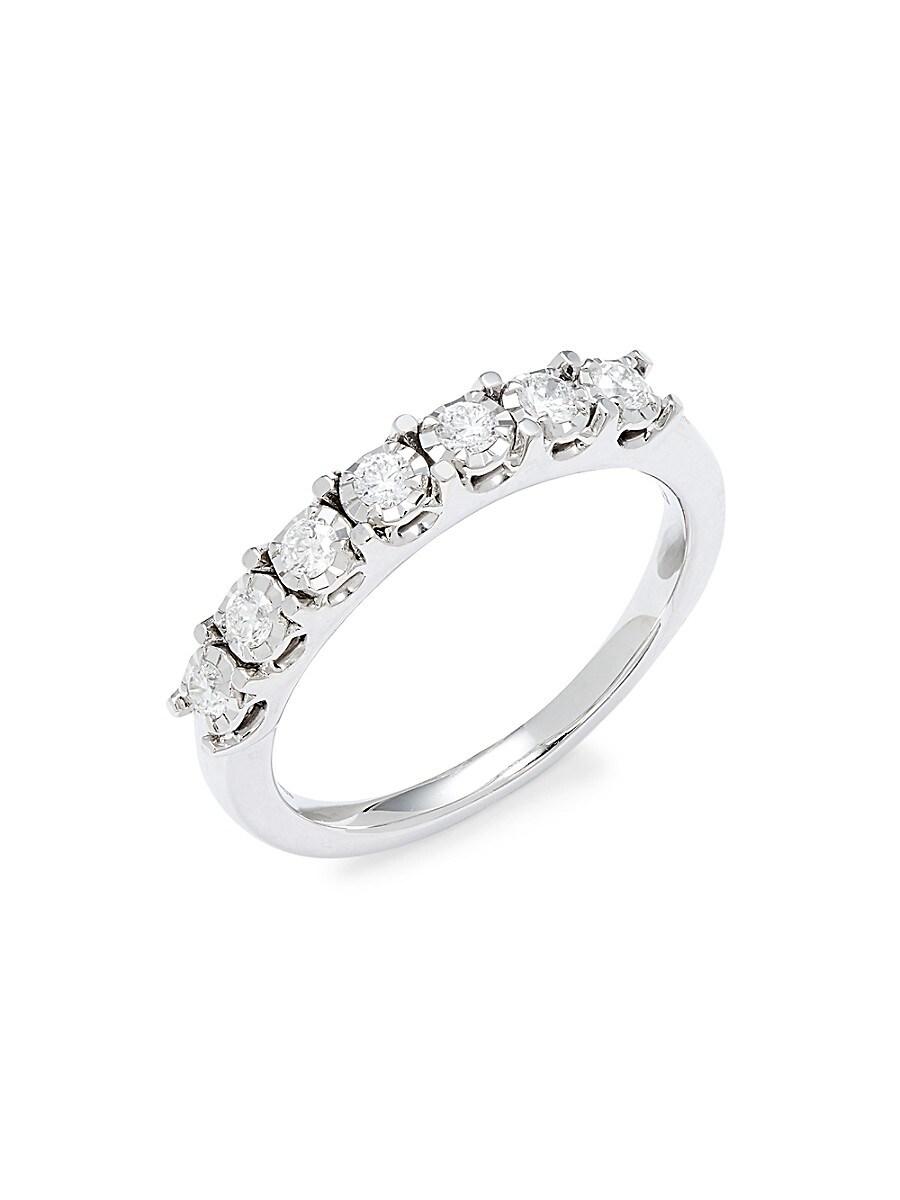 Women's Eny Sterling Silver & Diamond Ring