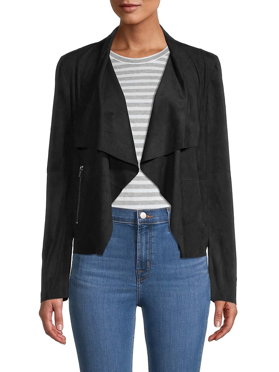 Women's Drape Open-Front Jacket