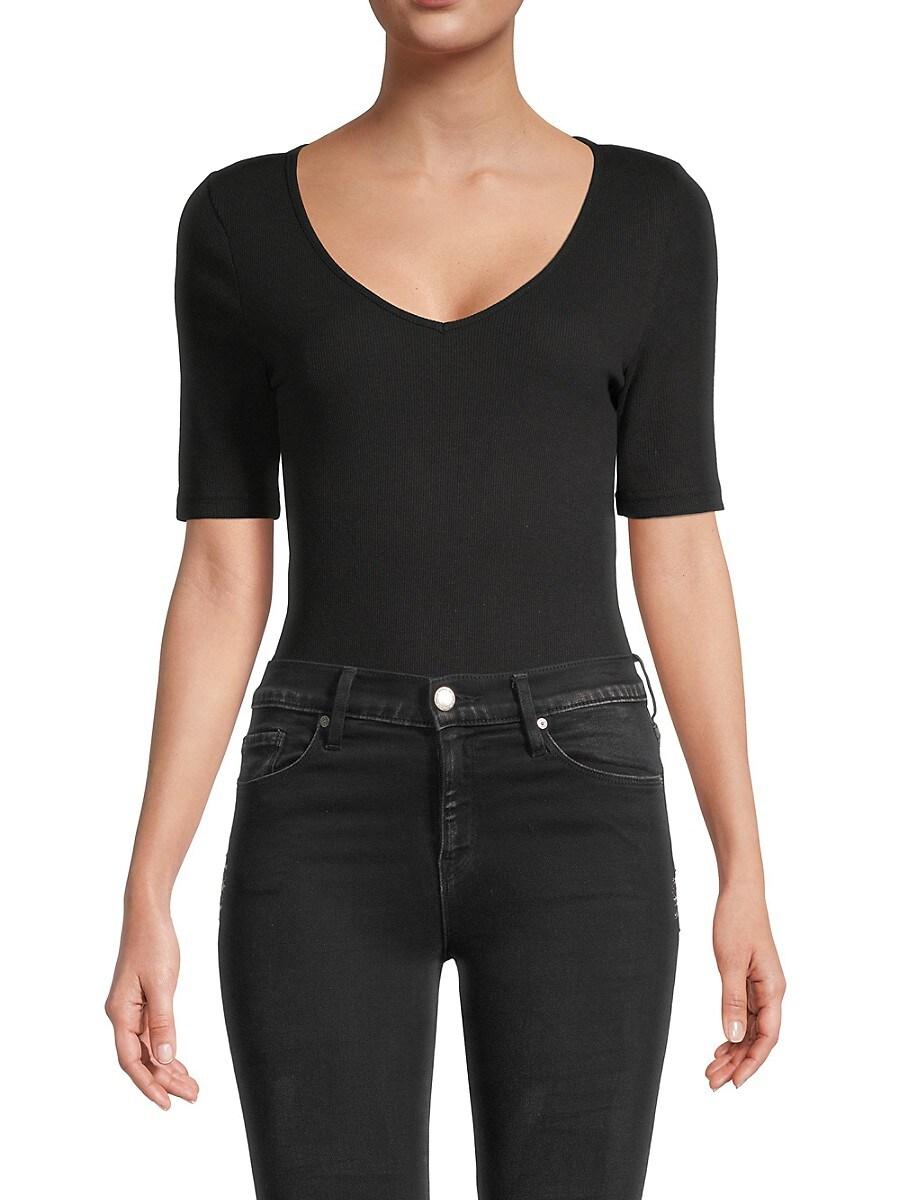 Women's V-Neck Bodysuit