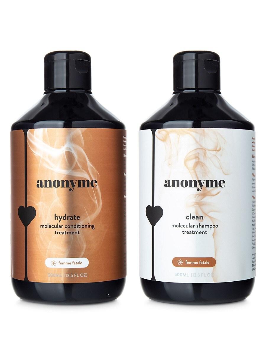 Women's Femme Fatale Clean & Hydrate Molecular Shampoo & Conditioner Treatment 2-Piece Set