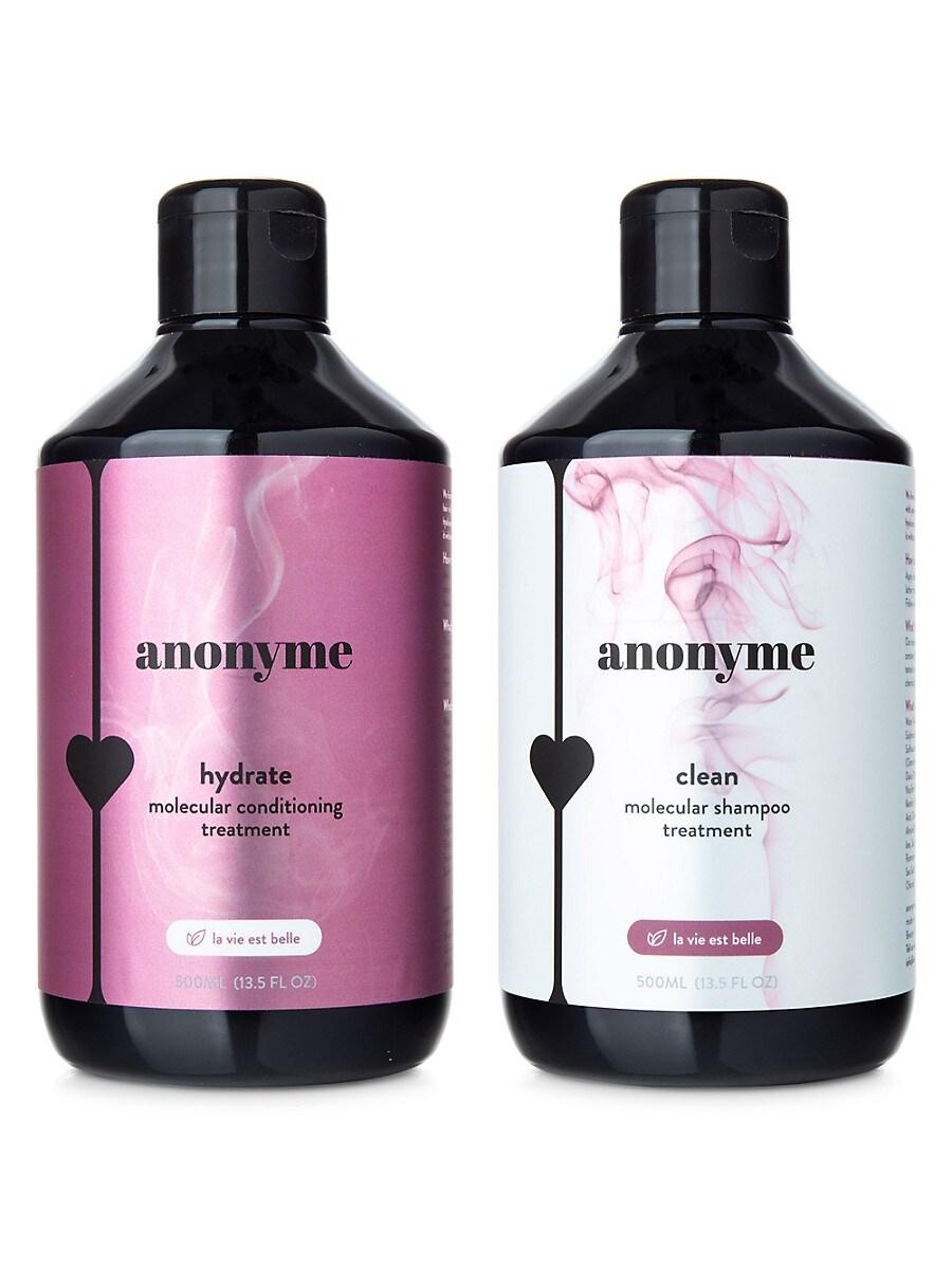Women's La Vie Est Belle Clean & Hydrate Molecular Shampoo & Conditioner Treatment 2-Piece Set