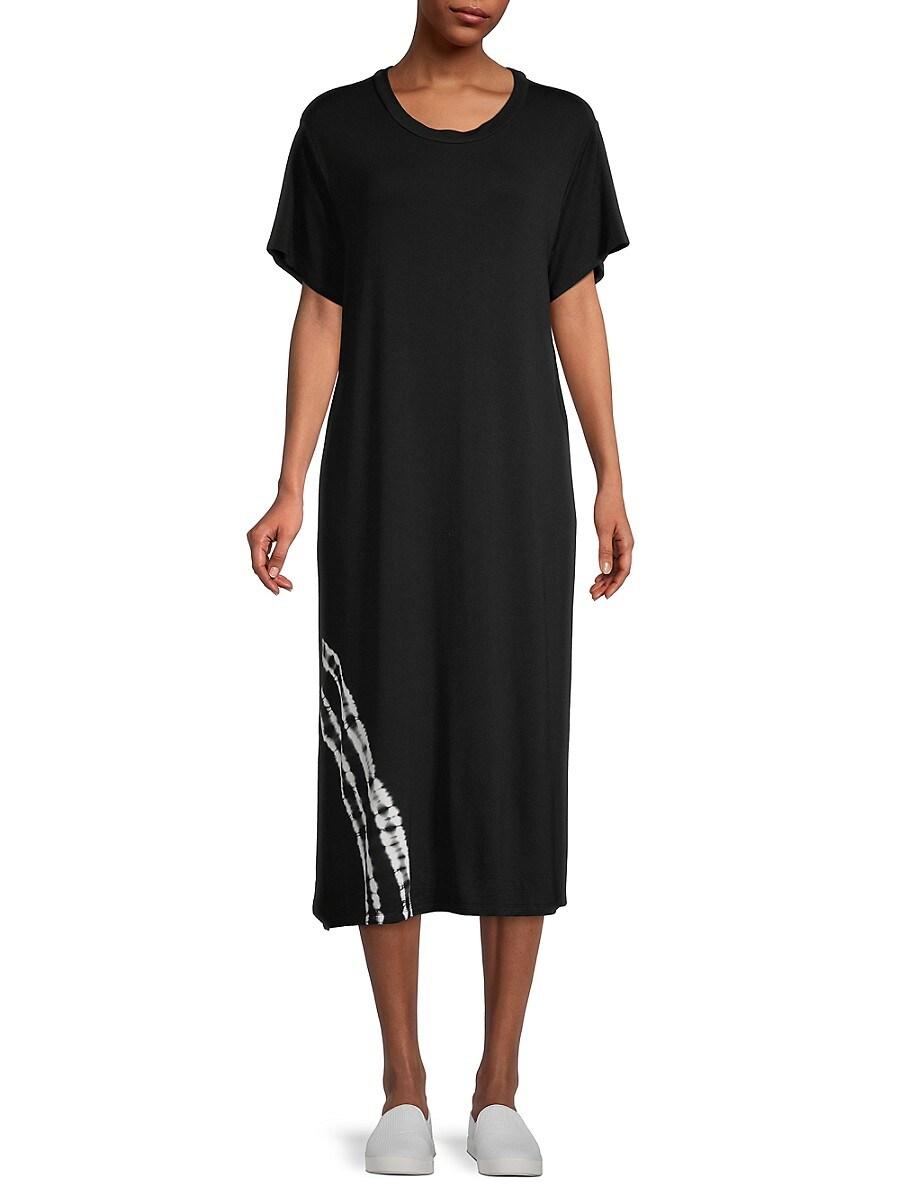 Women's Tie-Dyed T-Shirt Dress