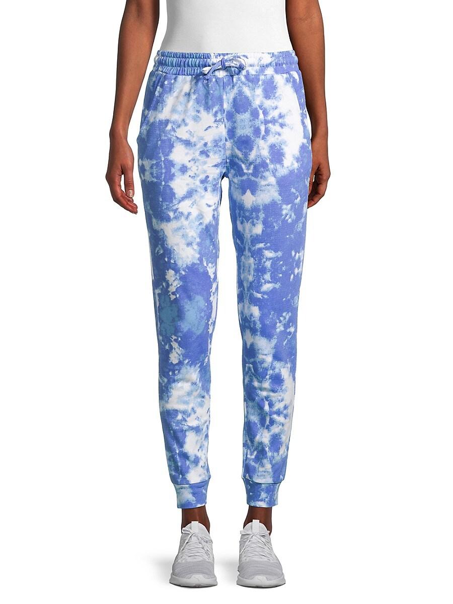 Women's Tie-Dyed Cotton Jogger Pants
