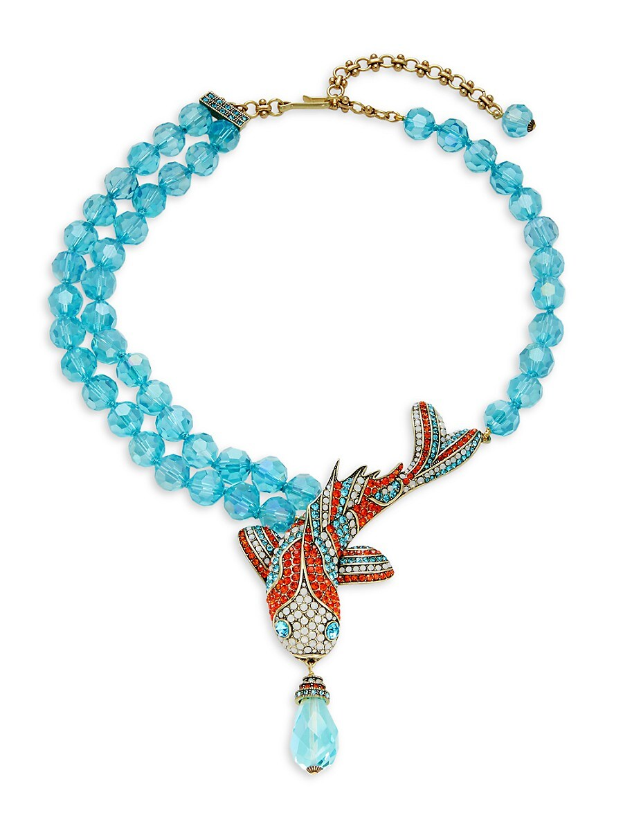 Women's Big Fishy Statement Necklace