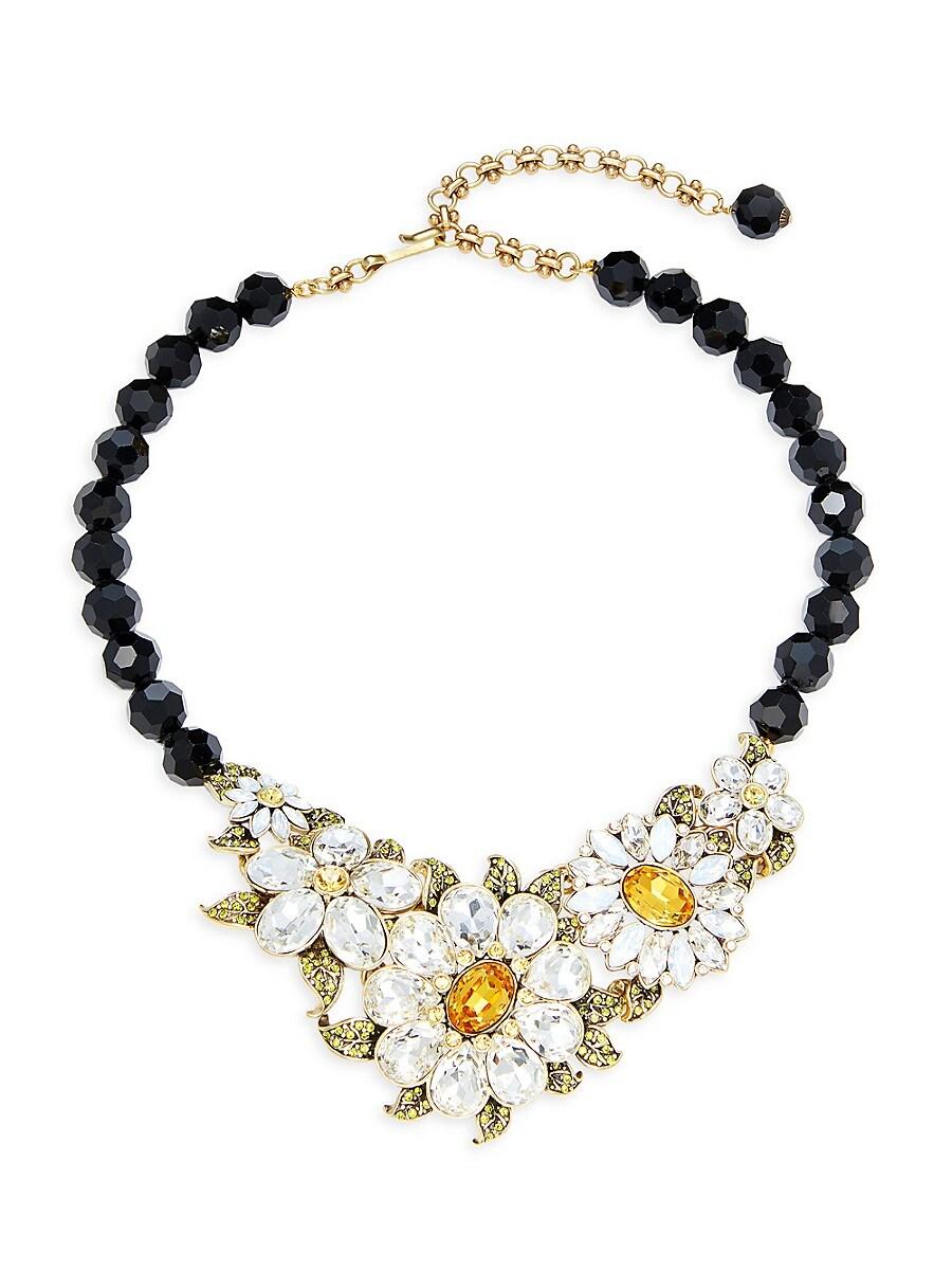 Women's Floral Statement Necklace