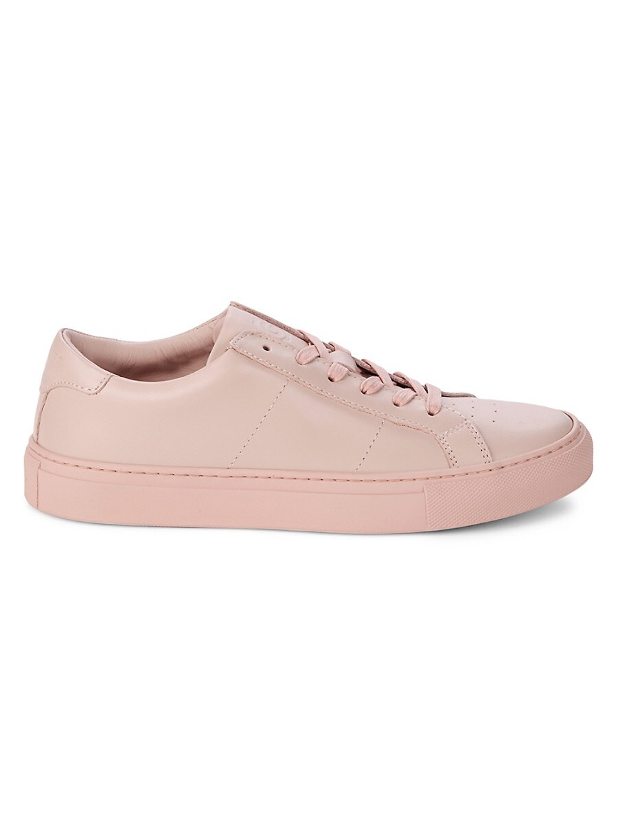 Women's Roy Leather Lace-Up Sneakers