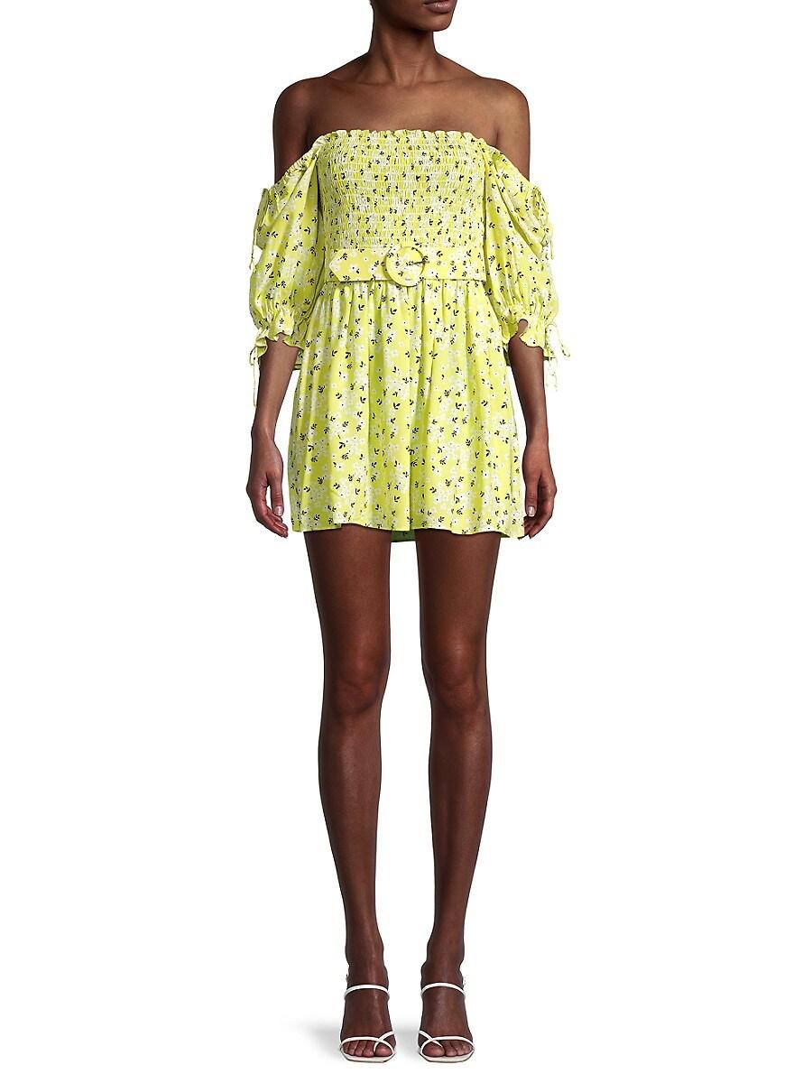 Women's Chrysanthemum Mini Dress