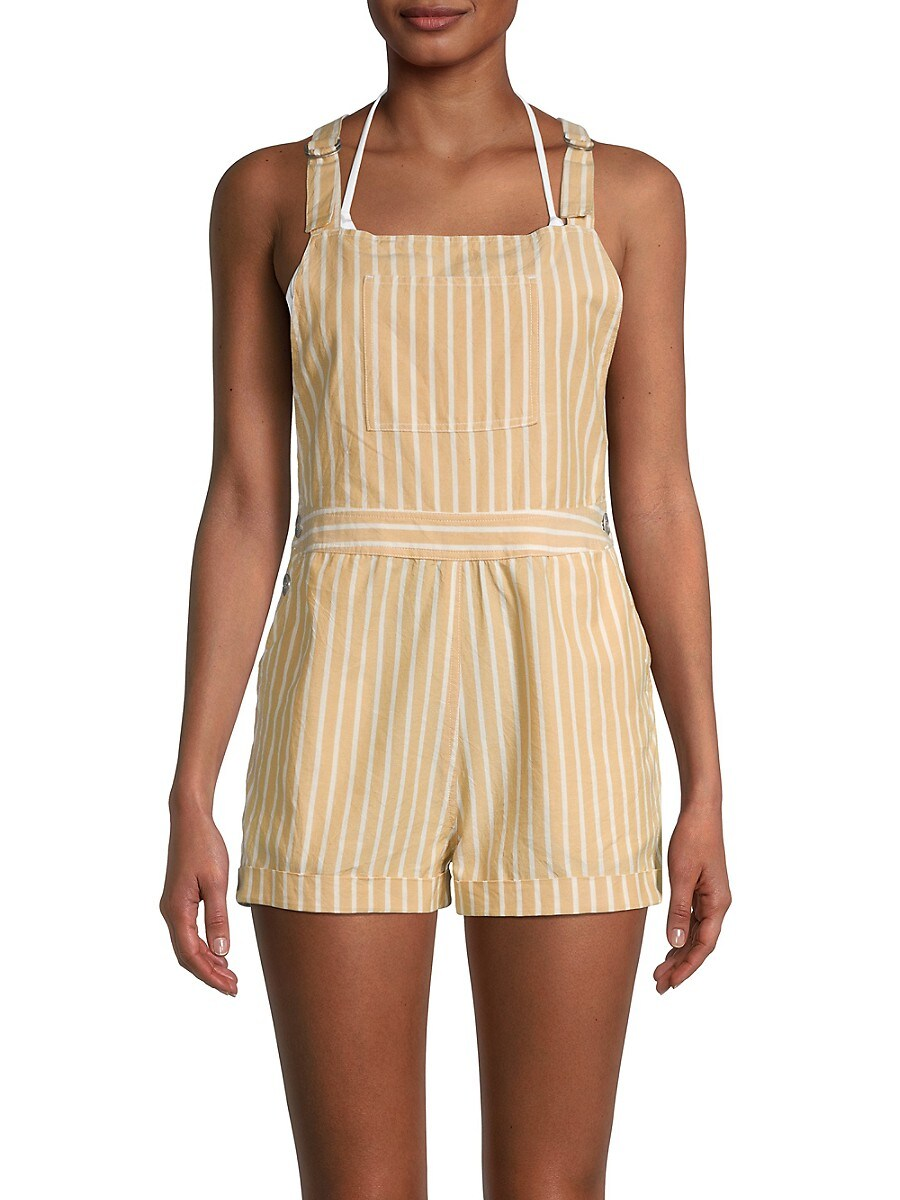 L*SPACE by monica wise Women's Mahalo Striped Romper