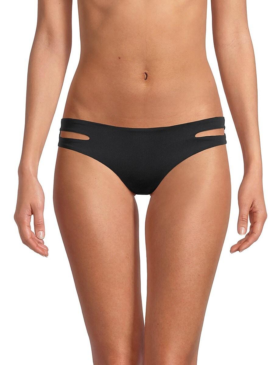 L*SPACE by monica wise Women's Estella Cutout Bikini Bottom