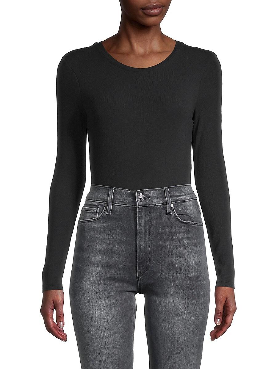 Women's Crewneck Long-Sleeve Bodysuit