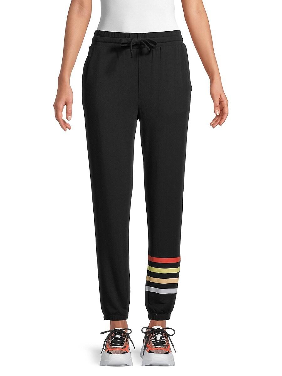 Women's Striped-Leg Joggers