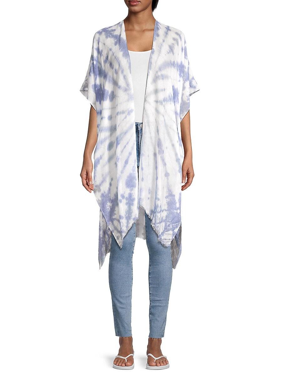 Women's Tie-Dyed Kimono