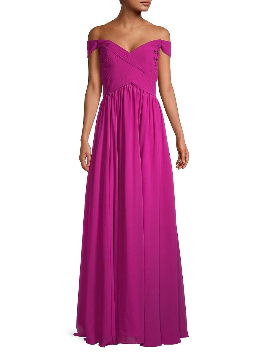 Women's Pleated Long Dress