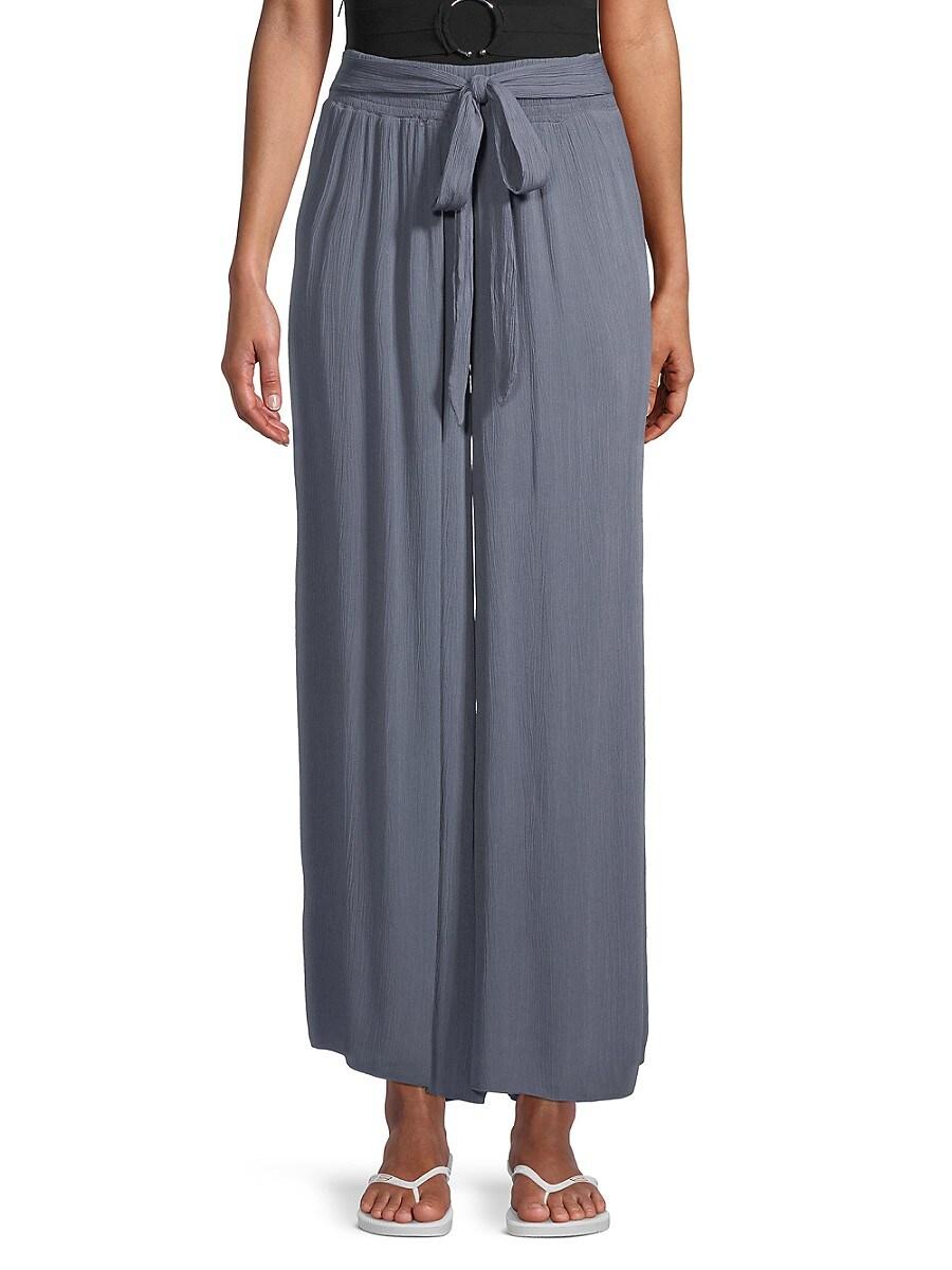 Women's Tie-Waist Coverup Pants