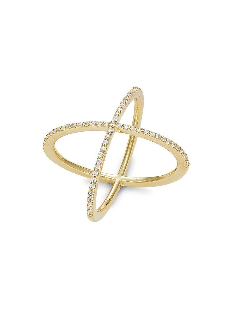 Simulated Diamond Crossover Ring